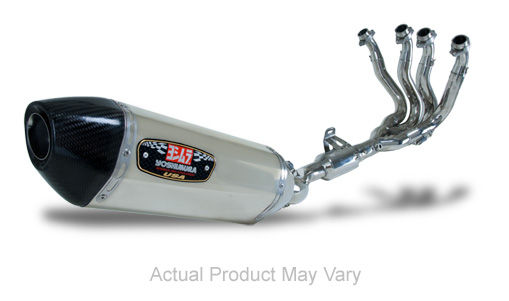 Yoshimura R-77 Stainless/Stainless Full Exhaust System W/ Carbon Fiber End Cap 09 Suzuki GSXR 1000