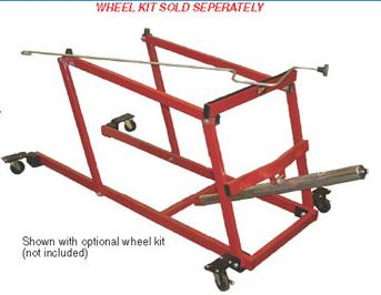 American Manufacturing Recreational Snowmobile & ATV Lift without Wheels