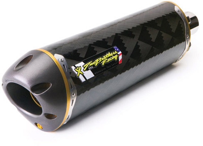 Two Brothers TBR M-2 Yamaha R6 '06-13 Slip on Carbon Fiber exhaust VALE