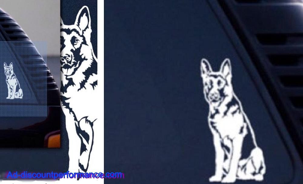 (1) german shepherd dog sticker