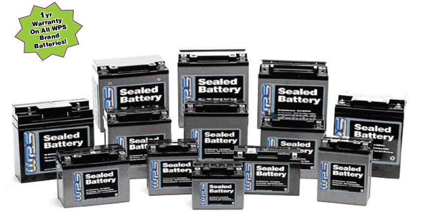 WPS batteries Sealed No Hazard maintance free Replaces YTX14-BS