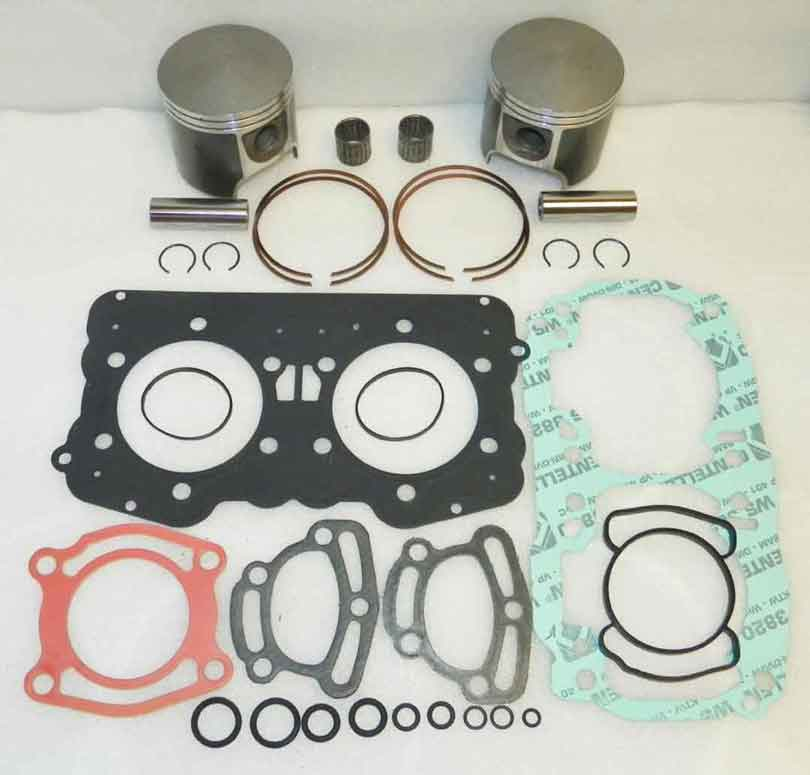 WSM Top End Rebuild Platinum Kit W/ gaskets For Seadoo 951 Motors 89mm