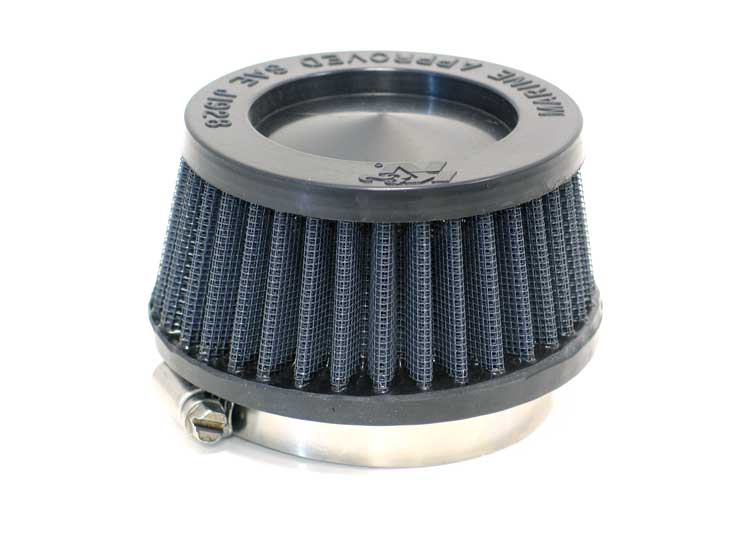 K&N Universal Flame Arrestor Air Filter 59-2046