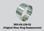 Solas Stainless steel wear ring for SRX impellers