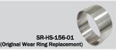 Solas Stainless steel wear ring for SR impellers
