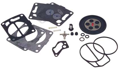 Mikuni Carburetor Rebuild kits round pump 34, 38 mm