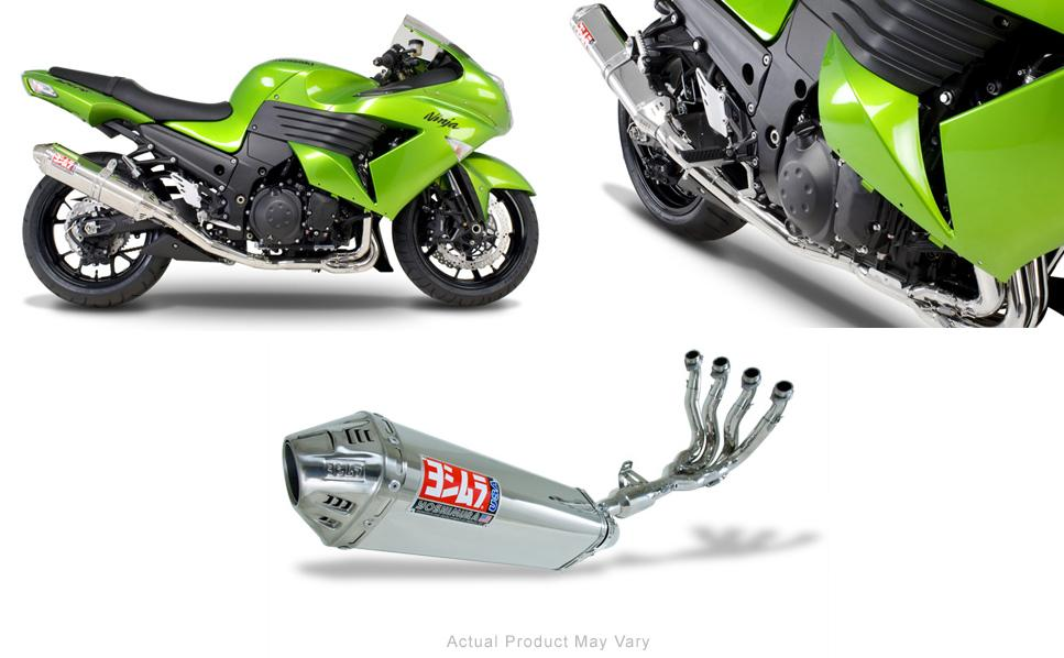 Yoshimura TRC Stainless/Stainless Full System Exhaust 08-09 Kawaski ZX14