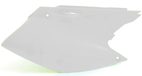 Kawasaki (00-2010) KX65 side panels White