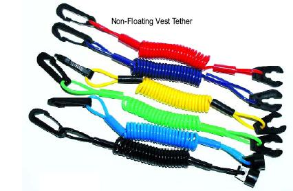 LVP Seadoo Non Floating Vest Tether lanyard kill switch