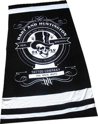 SMOOTH IND. H & H DEAL BREAKER BEACH TOWEL