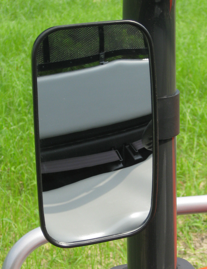 Seizmik UTV universal Side or rear view Mirror with 1-1/2 inch clamp