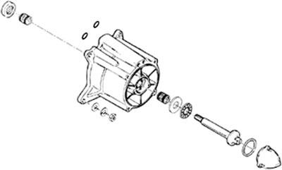 Mikuni Internal Fuel Filter S/BN Carb PWC [W/ 13-0109 - L