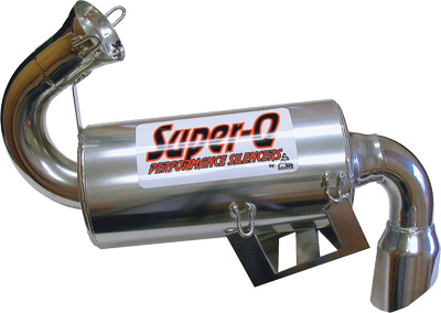 Super Q Ceramic Silencers for All (06-2010) Polaris 700 IQ Chassis (except RR) & (2010) 800 IQ Chassis