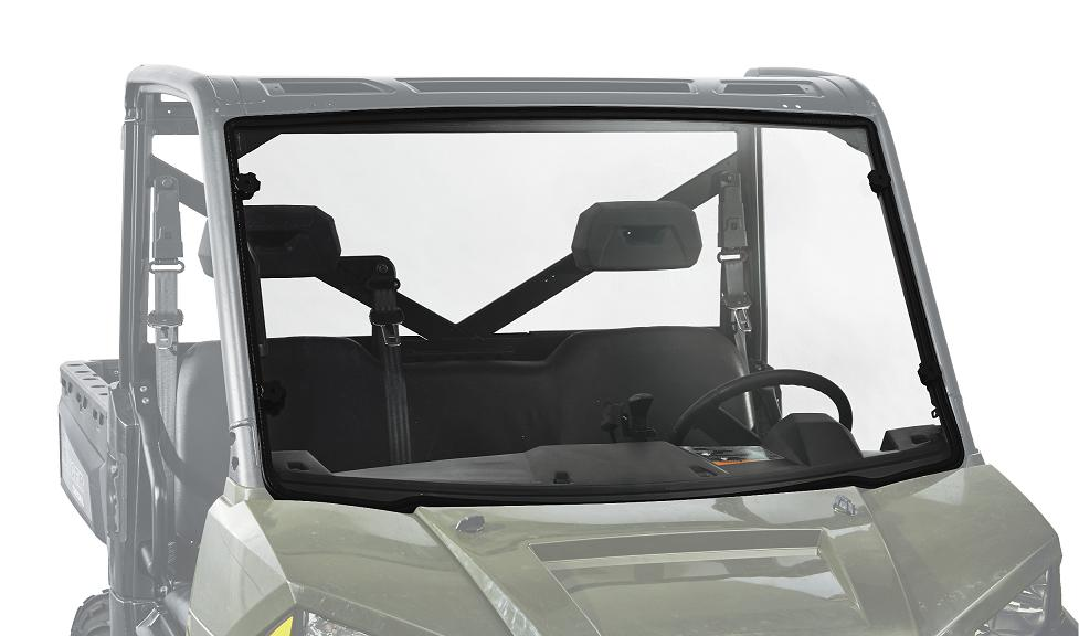 Kolpin Full Fixed Windshield - Polaris Ranger 900 XP 2013-2015