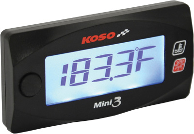 Koso Honda GROM Mini 3 Cylinder Head Temperature Meter
