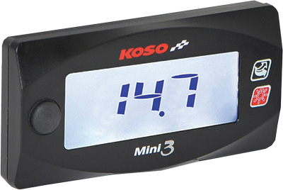 Koso Honda GROM Mini 3 Air/Fuel Ration Gauge
