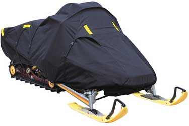 Black Knight Snowmobile Covers Large 341cc and larger single passenger