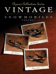 Clymer Snowmobile Manual Vintage : Arctic Cat 74-79, John Deere 72-80, & Kawasaki 76-80