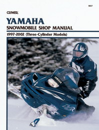 Clymer Snowmobile Manual Yamaha : Three Cylinder Models 97-02