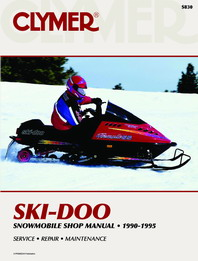 Clymer Snowmobile Manual Ski-Doo : All Watercooled Twins 90-95
