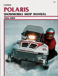 Clymer Snowmobile Manual Polaris : All Indy Modles 84-89