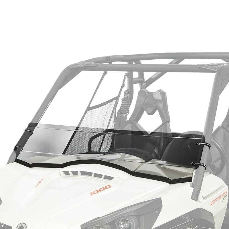 Kolpin Half Fixed Windshield - Can-Am Commander