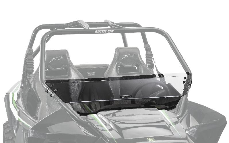 Kolpin Half Fixed Windshield - Arctic Cat Wildcat