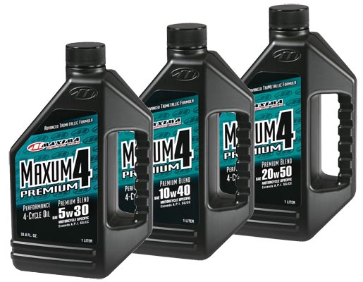 Maxima Maxum 4 Premium 5w30, 10w40, or 20w50 in 1 Gallon
