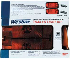 Wesbar Deluxe LOW PROFILE LIGHT KIT