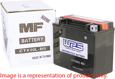 WPS Batteries Sealed Maintenance Free YTX16-BS