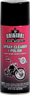 BIKE SPIRITS SPRAY CLEANER & POLISH 14 OZ