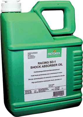 Motorex RACING SD-1 SHOCK OIL (5 LITERS)