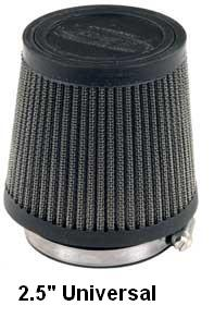 "R&D Racing Power Stack Pro Flow slip on Flame Arrestor / Air Filter 2.5"" (adapter not included)"