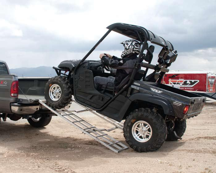 ALUMINUM SUPER HEAVY DUTY FOLDING ATV RAMP