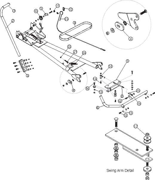 warn atv plow parts diagram