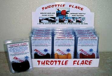 Snobunje Snowmobile Accessories Throttle Flare Dealer Displaty