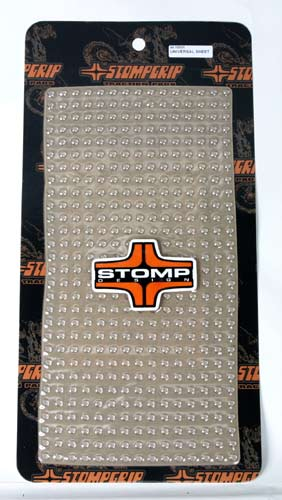 "Stomp Grip 7.5"" X 14.75"" Universal sheet for ATV's, Dirtbike's, Streetbike's, Snowboards & Watercraft"