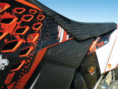 Stomp Grip KTM 2004-2006 ALL, 2003 SX 200/250/450 AIRBOX & SIDE PANEL