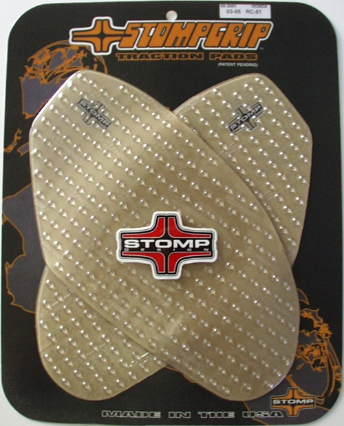 Stomp Grip Honda RC-51 2003-2006 Tank Kit