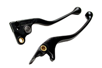 Motion Pro Black Brake Lever for Honda & Suzuki Dirt bikes