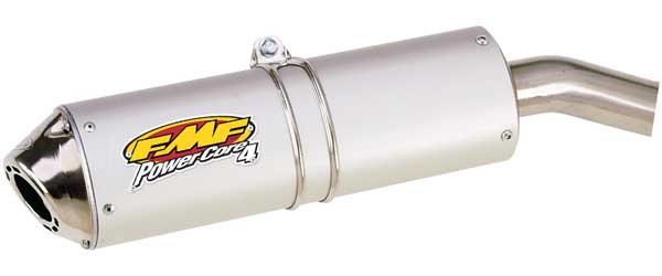 FMF ATV KAWASAKI V-FORCE KFX700 2003-2007 SS PB WITH POWERCORE 4 S/A MODULAR MUFFLER