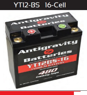 Antigravity Battery OEM Case 16-Cell 480 CA 16 Ah