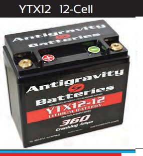Antigravity Battery OEM Case 12-Cell 360 CA 12 Ah