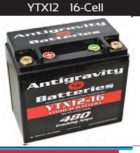 Antigravity battery OEM Case 16-Cell 480 CA 15 Ah