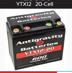 Antigravity Battery OEM Case 20-Cell 600 CA 20 Ah