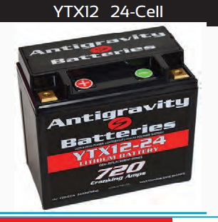 Antigravity Battery OEM Case 24-Cell 720 CA 24 Ah
