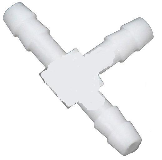 Carb Primer T-fitting Plastic nylon T 1/8 in X 1/8 in X 1/8