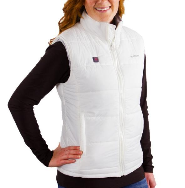 +Venture Heated Puffer Vest for Women