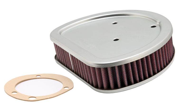 K&N HD-1499 Replacement Air Filter H/D TWIN CAM 99-07; SOFTAIL MODELS; 08-010