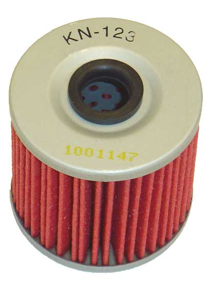 K&N KN-123 Oil Filter OIL FILTER; POWERSPORTS